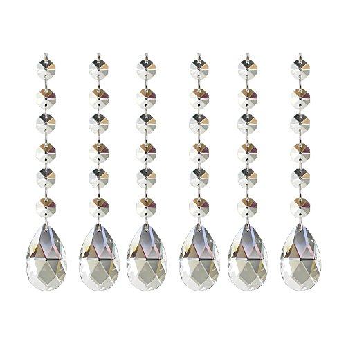 Poproo Teardrop Octagon Crystal Chandelier product image
