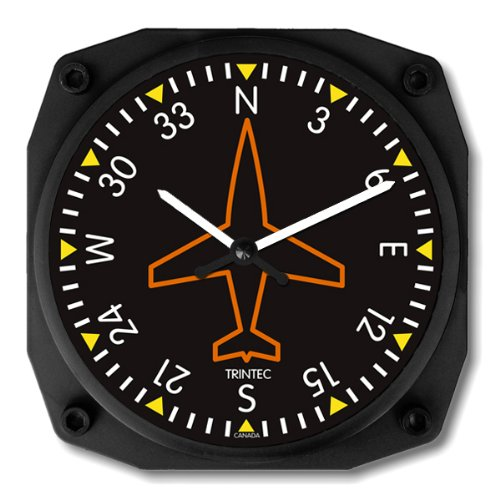 Directional Gyro Wall Clock