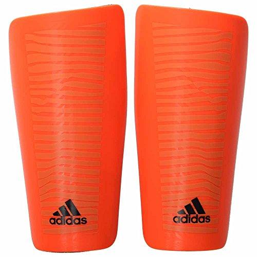 adidas Performance X Lesto Shin Guard, Solar Orange/Black, Medium