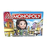 Toys : Monopoly Ms.Monopoly Board Game for Ages 8 & Up