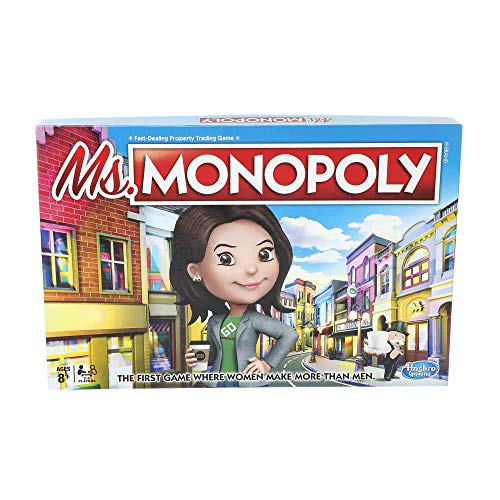 Monopoly Ms.Monopoly Board Game for Ages 8 & Up (Business Game Board)