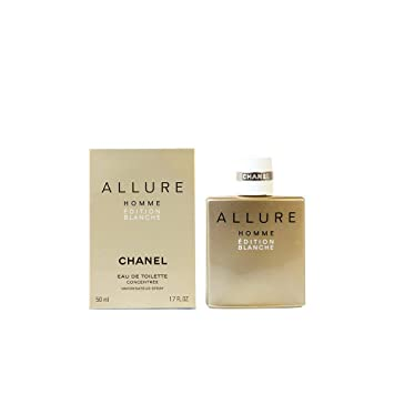 7d5664834 Buy Chanel Allure Homme Edition Blanche Eau De Parfum Spray 50ml Online at  Low Prices in India - Amazon.in