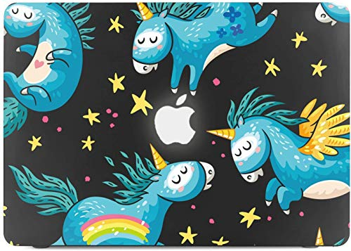 Lapac MacBook Air 13 Inch Case 2020 2019 2018 Release A2179 A1932, Unicorn MacBook Air 13 in Case Soft Touch Hard Shell Case & Retina Display Fits Touch ID with Keyboard Cover (Unicorn(A2179/A1932))
