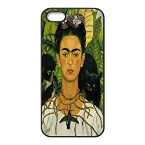DDOUGS I love Frida Personalised Cell Phone Case for Iphone 5,5S, Dropship I love Frida Case