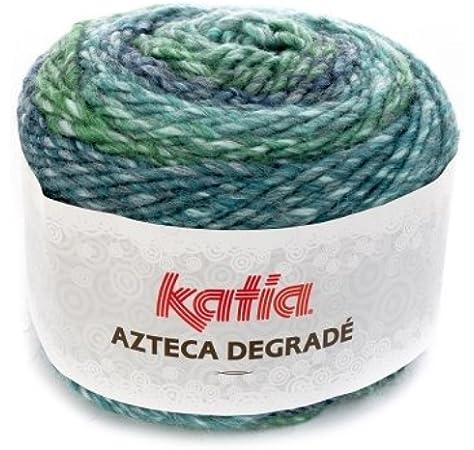 Katia Azteca Lana FB. 503, 100 g Lana Degrade Degradado para Punto y Ganchillo: Amazon.es: Hogar
