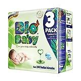 Bio Baby Toallas Húmedas, 1 caja con 4 paquetes de 240 Piezas (960 unidades)