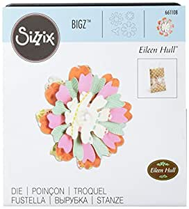 Sizzix 661108 Bigz Die, Flower, Heart & Soul by Eileen Hull