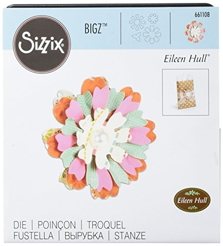 Sizzix Bigz Die, Flower, Heart and Soul by Eileen Hull ()
