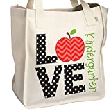 LOVE Kindergarten - School Teacher's Tote Bag - Perfect Gift for any teacher