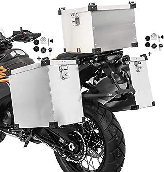 Maletas Laterales 40-40L Baul 38L para Yamaha MT-07 / Tracer 700