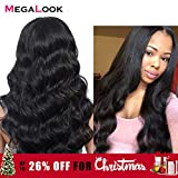 Best Hair Wig With Babies - Megalook 360 Lace Frontal Wig Pre Plucked Review