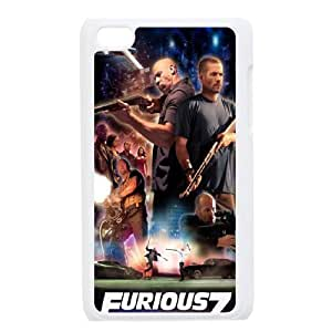 Furious 7 YT0012317 Phone Back Case Customized Art Print Design Hard Shell Protection Ipod Touch 4