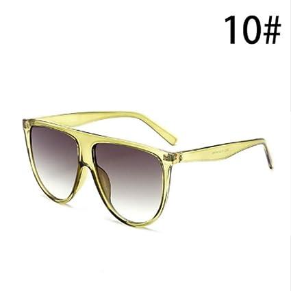 LONYENMA Gafas de Sol Finas y Planas para Mujer Gafas de Sol ...