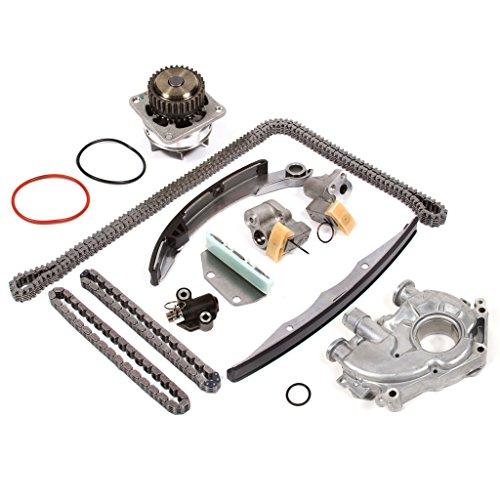 Evergreen TK6046RWOP3 Fits 97-02 Ford 4.6 SOHC 16V ROMEO Timing Chain Kit Oil Pump GMB Water Pump