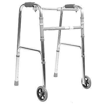 TRELLA Andador Plegable Ajustable para Ancianos y Discapacitados ...