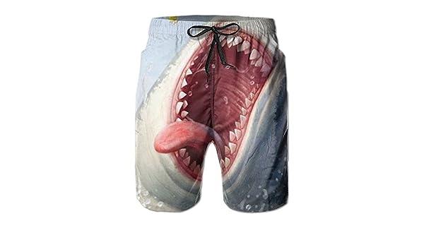 YOIGNG Boardshorts Aircraft Mens Quick Dry Swim Trunks Beach Shorts