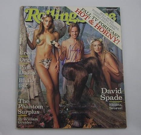 Nude women swimming in the pool