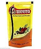 4 X Meera Herbal Hair Wash Powder Shikakai, Tulsi, Shampoo 4 X 80 G = 320g