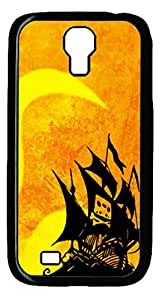 Samsung Galaxy S4 I9500 Case and Cover -Cassette Tape Pirate Ship PC case Cover for Samsung Galaxy S4 I9500-Black