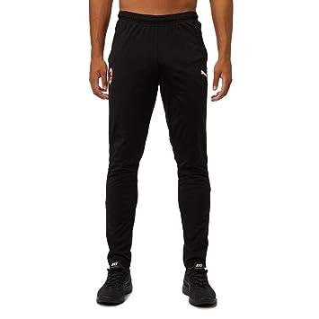 Puma AC Milan Pantalones para Hombre Negro 201920 70428703: Amazon ...