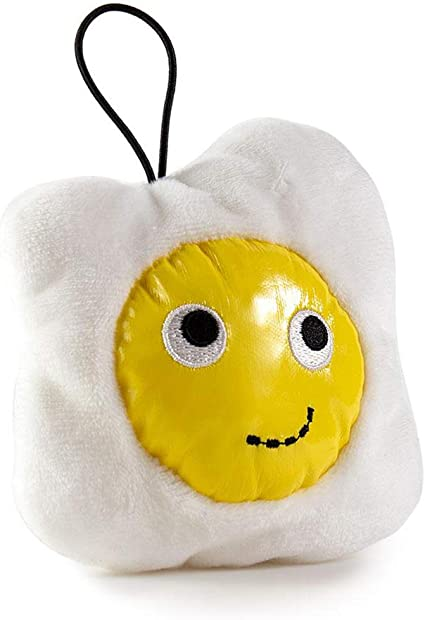 Kidrobot Yummy Breakfast Egg Plush 10/'/' White