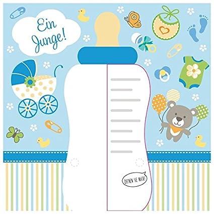 Susy Card 40010229 - Tarjeta de felicitación para nacimiento/niño ...