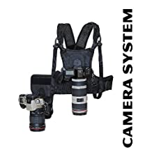 Cotton Carrier Camera System for Two Cameras — Black