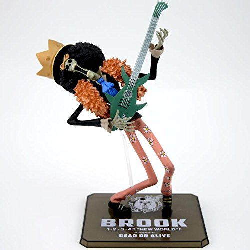 Anime Cartoon Two Years Later One Piece Brook PVC Action Figure Collectible Model Toy Gift 18cm one-15