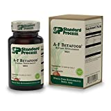Standard Process - A-F Betafood - Whole Food Gluten Free Digestive Supplement, 1500 IU Vitamin A, Supports Healthy Fat Digestion, Cholesterol Metabolism, and Healthy Bowel Function - 360 Tablets