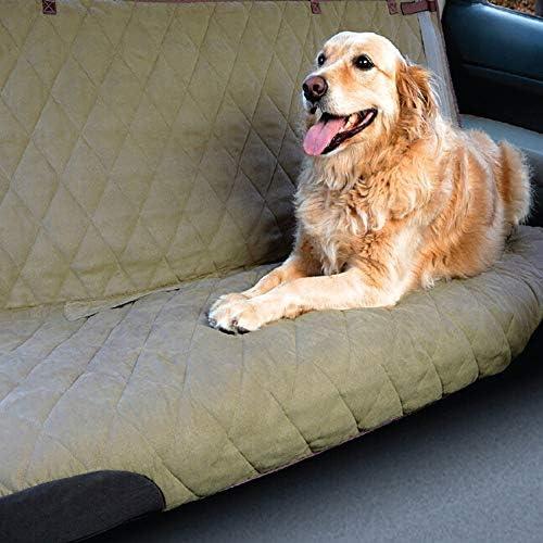 ペットシートカバー 傷から車を保護するためにペットカーシートリアダブルレイヤーユニバーサルペットシートカバー (Color : Green, Size : 152x119cm)