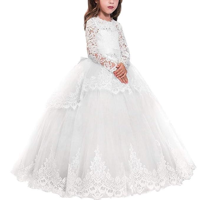Amazon.com: MYRISAM - Vestido de fiesta de manga larga de ...
