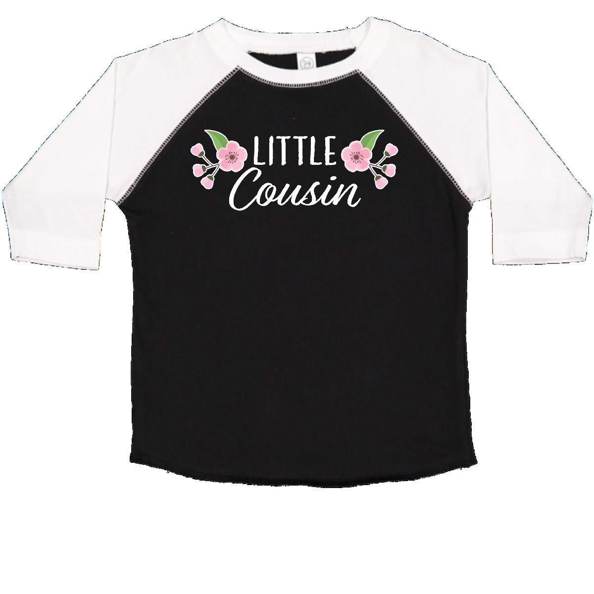 inktastic Little Cousin with Cherry Blossom Flowers Toddler T-Shirt