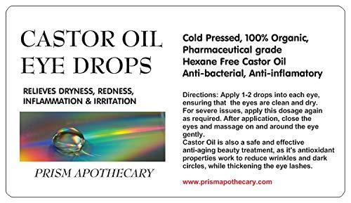 Castor Oil Eye Drops Pharmaceutical Gr Buy Online In Canada At Desertcart