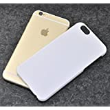 PLATA iPhone6 iPhone6s ケース カバー ハードケース フラット PC iPhone 6 6s 4.7 インチ 【 ホワイト 白 white 】 IP6-2001WHF