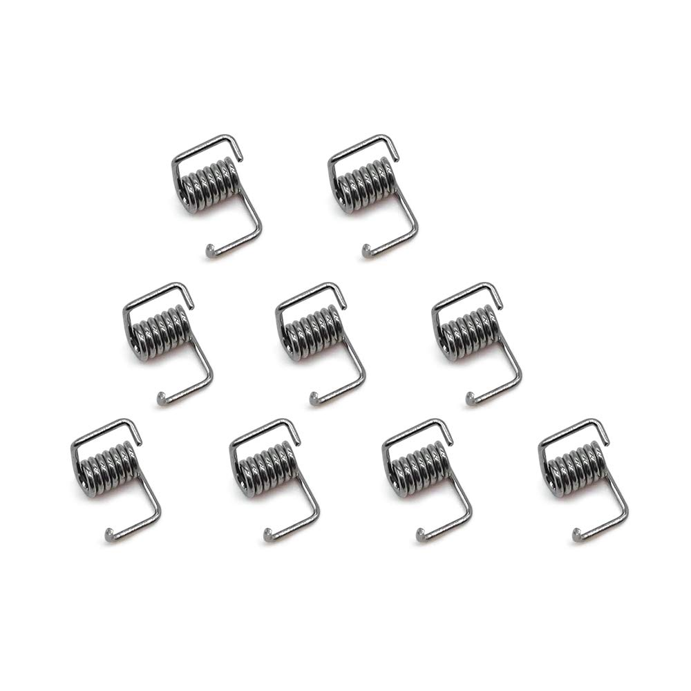 Pack of 10pcs GT2 Timing Belt Torsion Spring for 3D Printer 6mm Width Belt by LINGLONG