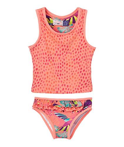 OFFCORSS Toddler Baby Girl Two Piece Trajes de Baño de Verano Niñas Coral 3T