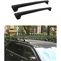 TeddyTT 2011-2017 Jeep Grand Cherokee Crossbars Roof Luggage Racks (Only fit for LIMITED and OVERLAND models)