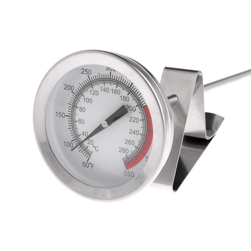 Besttse Frying Oil Fryer Fries Fried Chicken Wings BBQ Grill Thermometer 40cm Long Probe