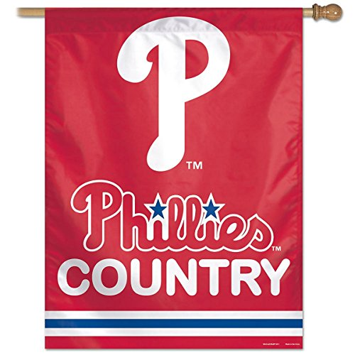 Philadelphia Phillies Phillies Country House Flag and Banner