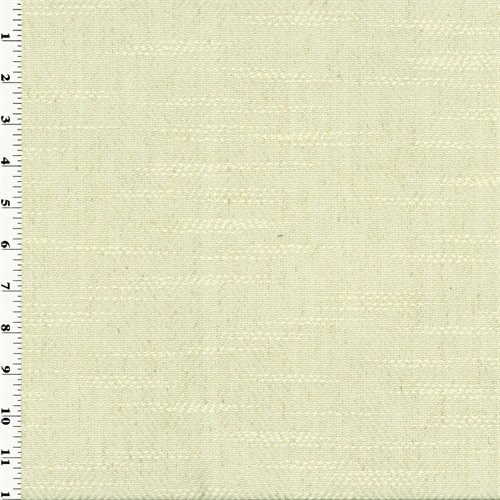 Pearl White Zegna Twill Home Decorating Fabric, Fabric by The Yard