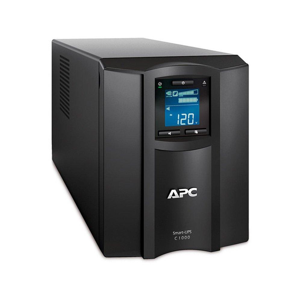 APC Smart-UPS 1000VA UPS Battery Backup with Pure Sine Wave Output (SMC1000)