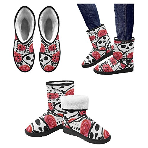 Snow Stivali Da Donna Di Interestprint Stivali Invernali Comfort Dal Design Unico Multi 7