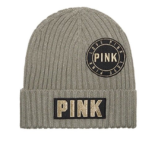 nk Olive Green Gold Logo Beanie Hat Cap One Size ()