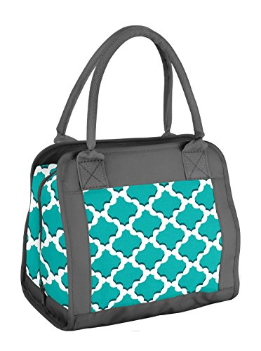 fit-fresh-carolina-insulated-lunch-bag-with-reusable-ice-pack-teal-stamp
