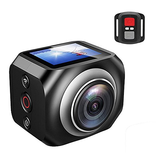 VSSPEED New WiFi Cam Mini Sports Action Camera VR Camera1 5inch TFT LCD 1920 1080@30fps HD Camcorder with 2 4G wifi remote controlの商品画像