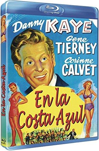 ON THE RIVIERA - Blu-Ray (En la costa azul) Spanish Import - Region B - PAL format