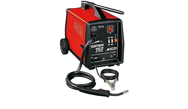 Helvi 99405021 Soldadura de hilo Panther 152 no gas 230 V, 230 V, Rojo, Negro: Amazon.es: Bricolaje y herramientas