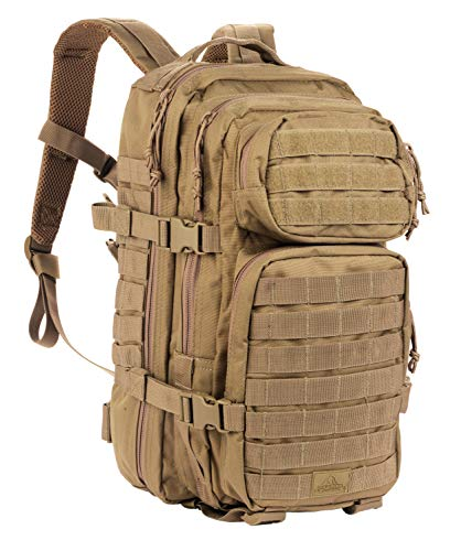 Red Rock Outdoor Gear RED80126COY-BRK Assault Pack (Medium, Coyote Tan)