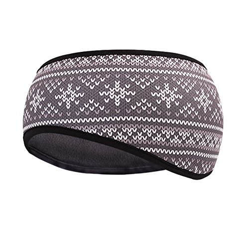 Ladies Ski Wear (TClian Women's Ear Warmer Winter Head Band Polar Fleece Ski Ear Muff Stretch Hair Band Accessories Perfect for Winter Running Yoga Skiing & Daily Wear – 4 Colors (HBW-05))