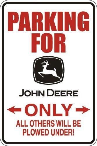 Buy john deere signs metal large